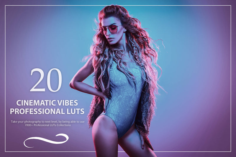 20 Cinematic Vibes LUTs Pack