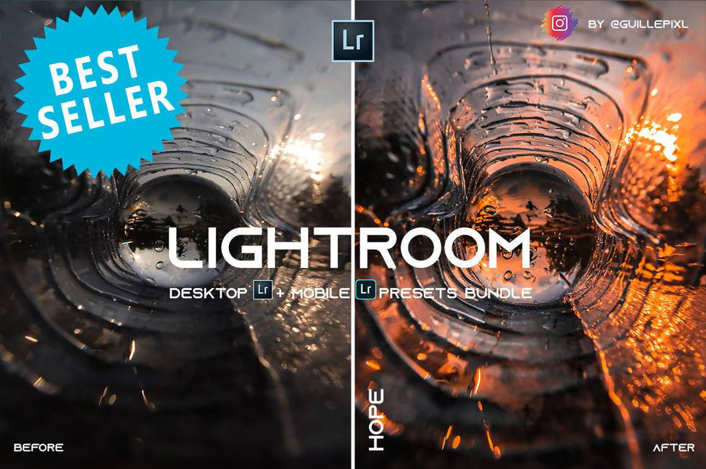 MOBILE + DESKTOP Lightroom Presets Bundle / by @guillepixl - VOL. 3 Lightroom Presets @guillepixl