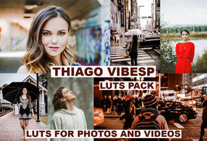 CINEMATIC Film LUTS PACK for Videos / Moody / Travel