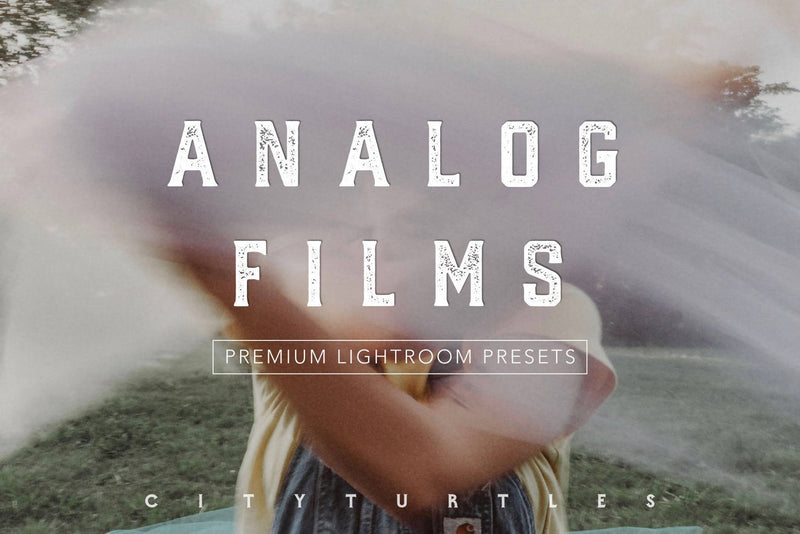 Analog Film Inspired Moody Lightroom Presets Pack for Desktop & Mobile