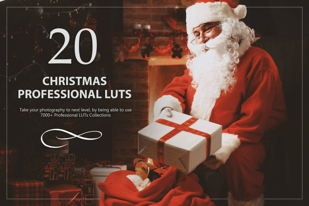 20 Christmas LUTs Pack