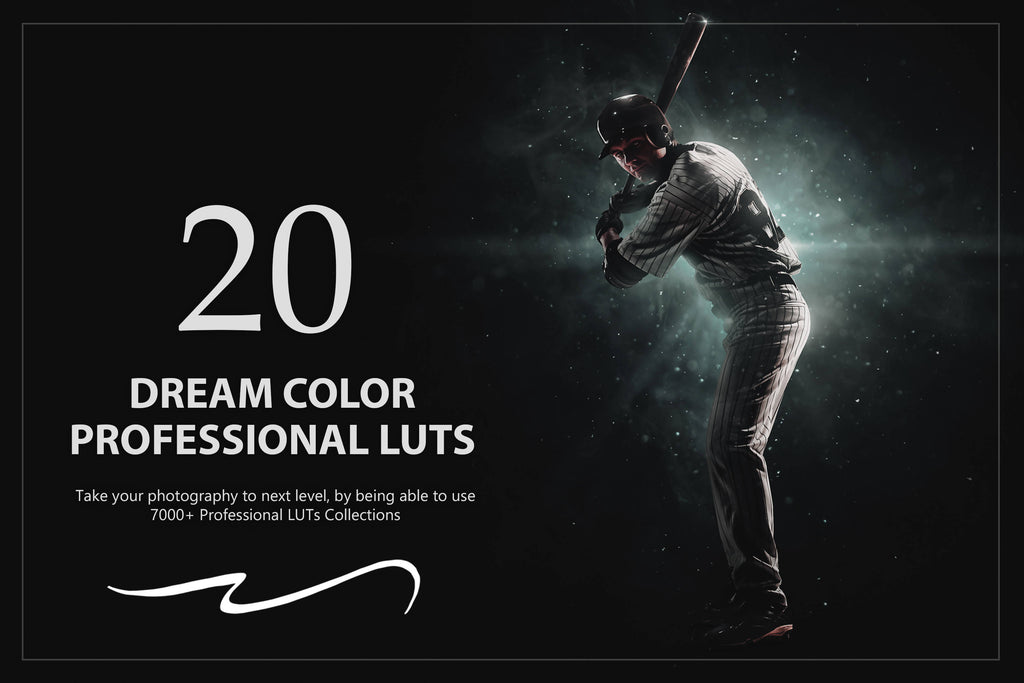 20 Dream Color LUTs Pack