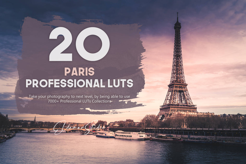 20 Paris LUTs Pack