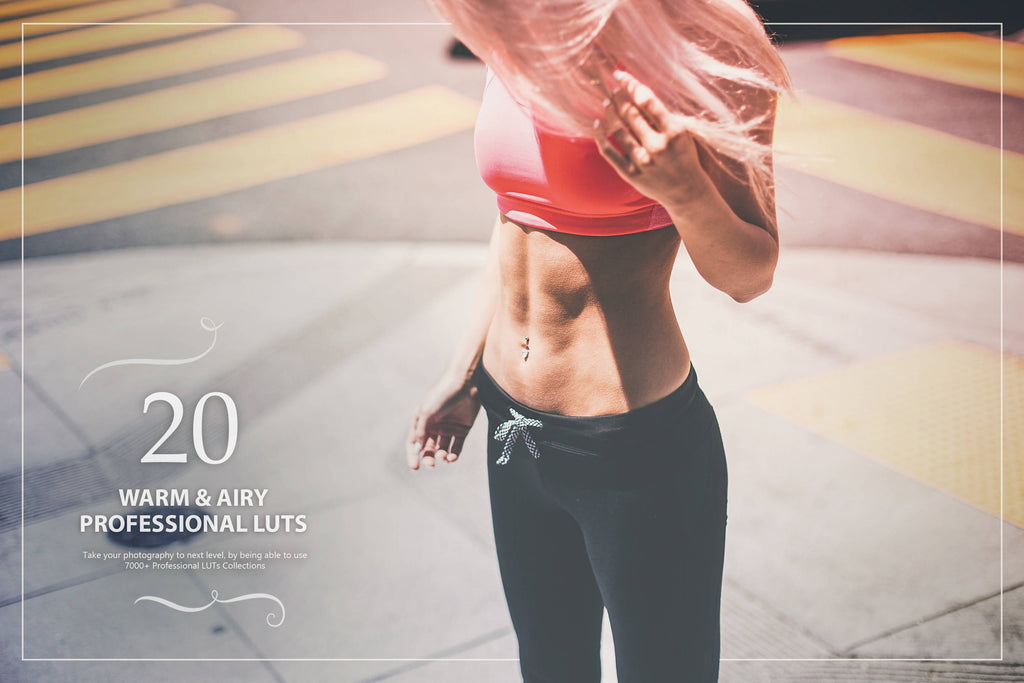 20 Warm and Airy LUTs Pack