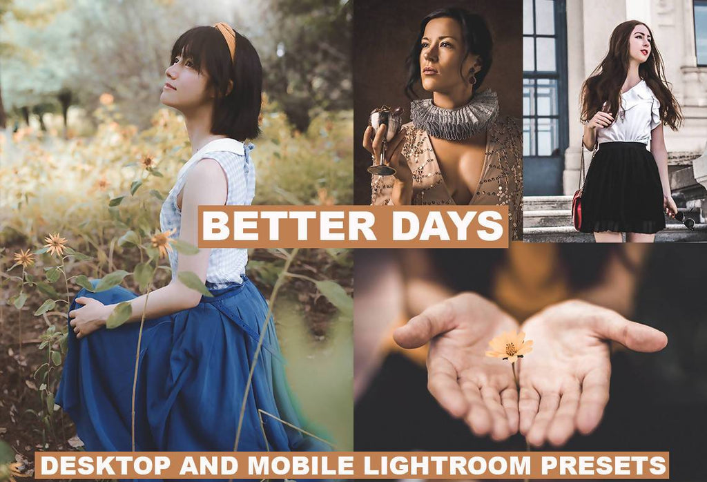 Cinematic Better Days Desktop & Mobile Lightroom Presets Lightroom Presets Thiago Vibesp
