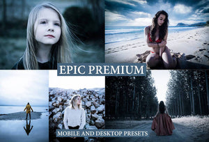 Cinematic Epic Premium Desktop and Mobile Lightroom Presets Lightroom Presets Thiago Vibesp