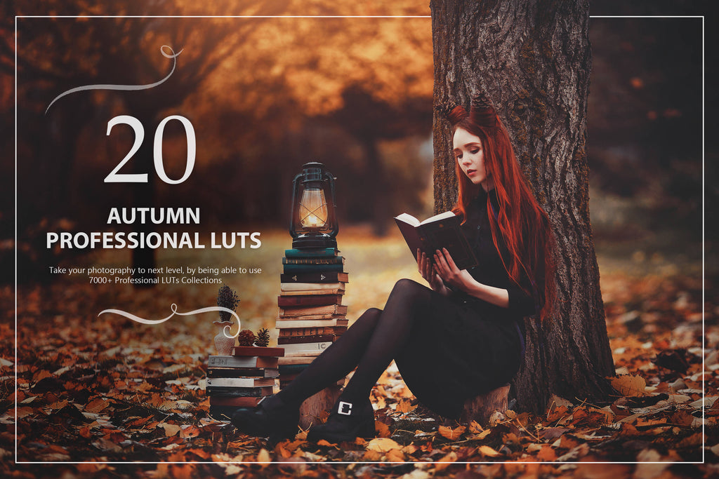 20 Autumn LUTs Pack