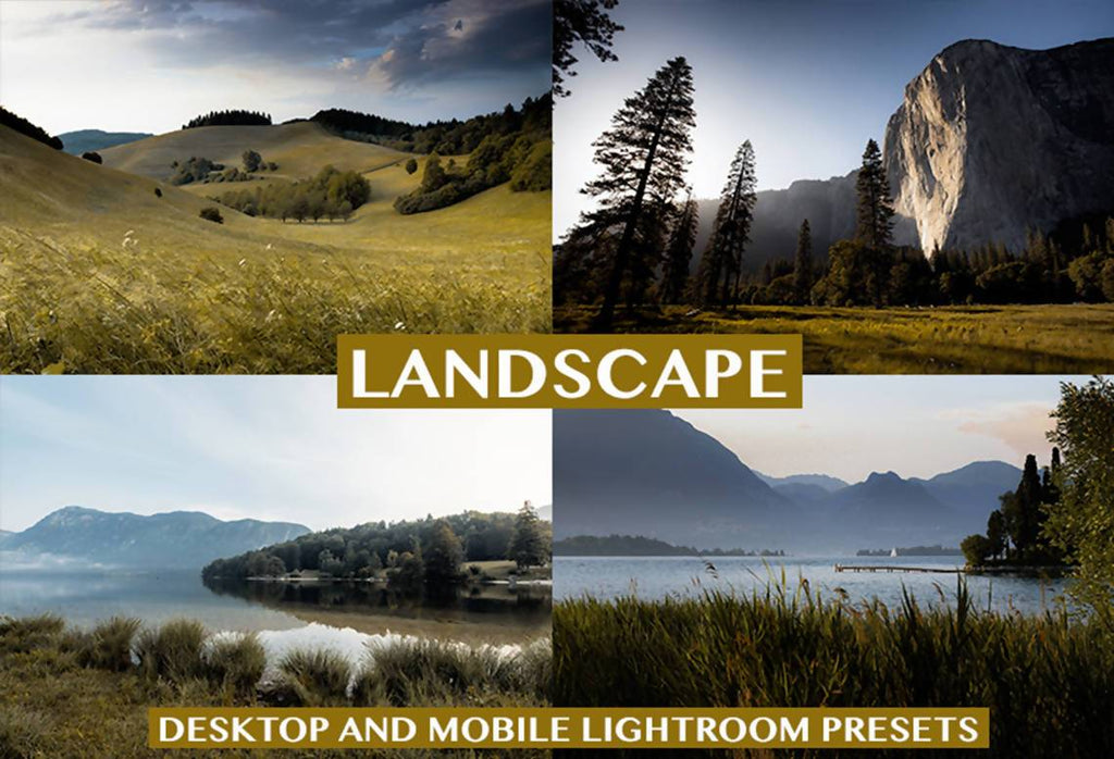 Cinematic Landscape Desktop & Mobile Lightroom Presets Lightroom Presets Thiago Vibesp