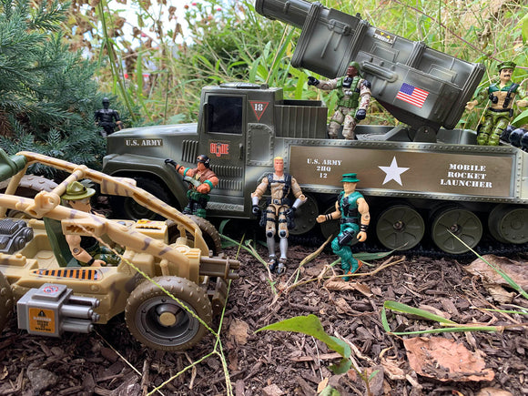 Military Vehicle, Figures & Accessories
