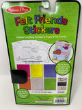 Melissa & Doug On the Go Craft Activity Set - Felt Friends Stickers