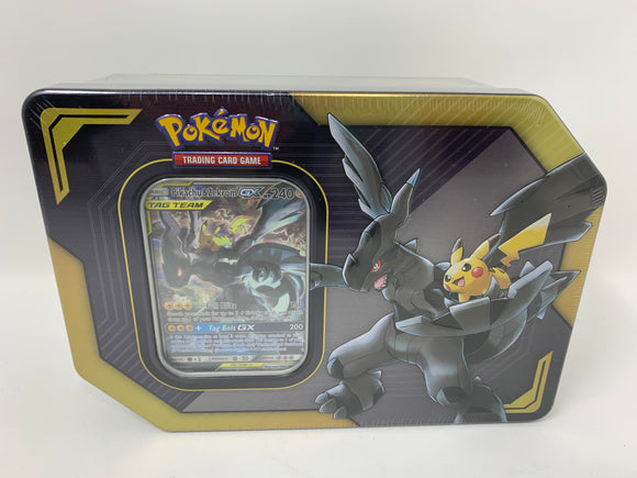 "Pokemon Tag Team GX Collector's Tin ""Pikachu & Zekrom"""