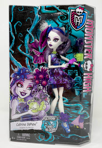 "Monster High Doll ""Catrine DeMew"" Gloom and Bloom"