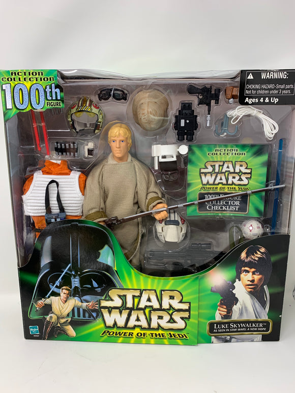 Star Wars Power of the Jedi Luke Skywalker 100th Figure