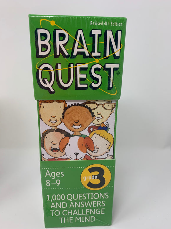 Brain Quest Deck:  Ages 8-9, Grade 3