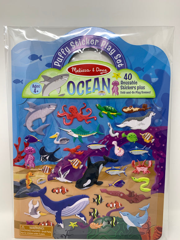 Melissa & Doug Ocean Puffy Stickers