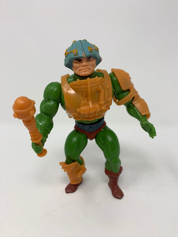 Masters of the Universe Man-At-Arms 1982 with Mace and Complete Armor