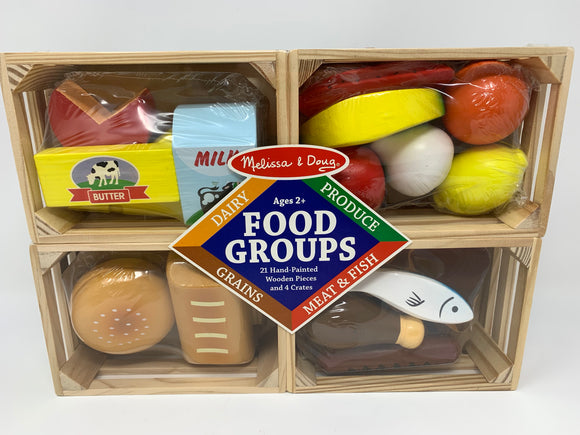 Melissa & Doug Food Groups Play Food