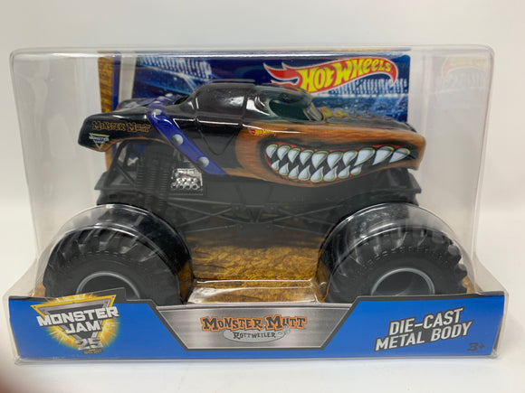 Hot Wheels Monster Jam Monster Mutt Rottweiler 1:24 Scale