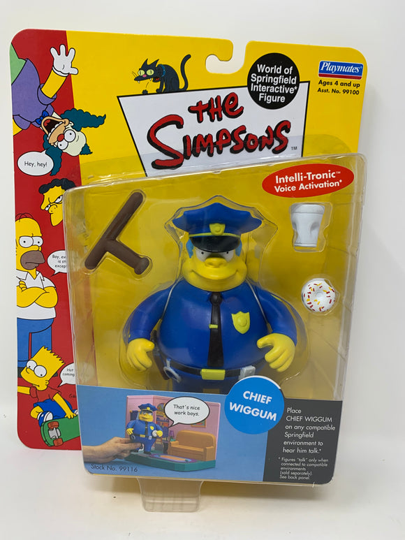 The Simpsons Chief Wiggum Action Figure
