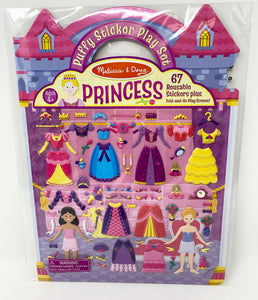Melissa & Doug Puffy Princess Stickers