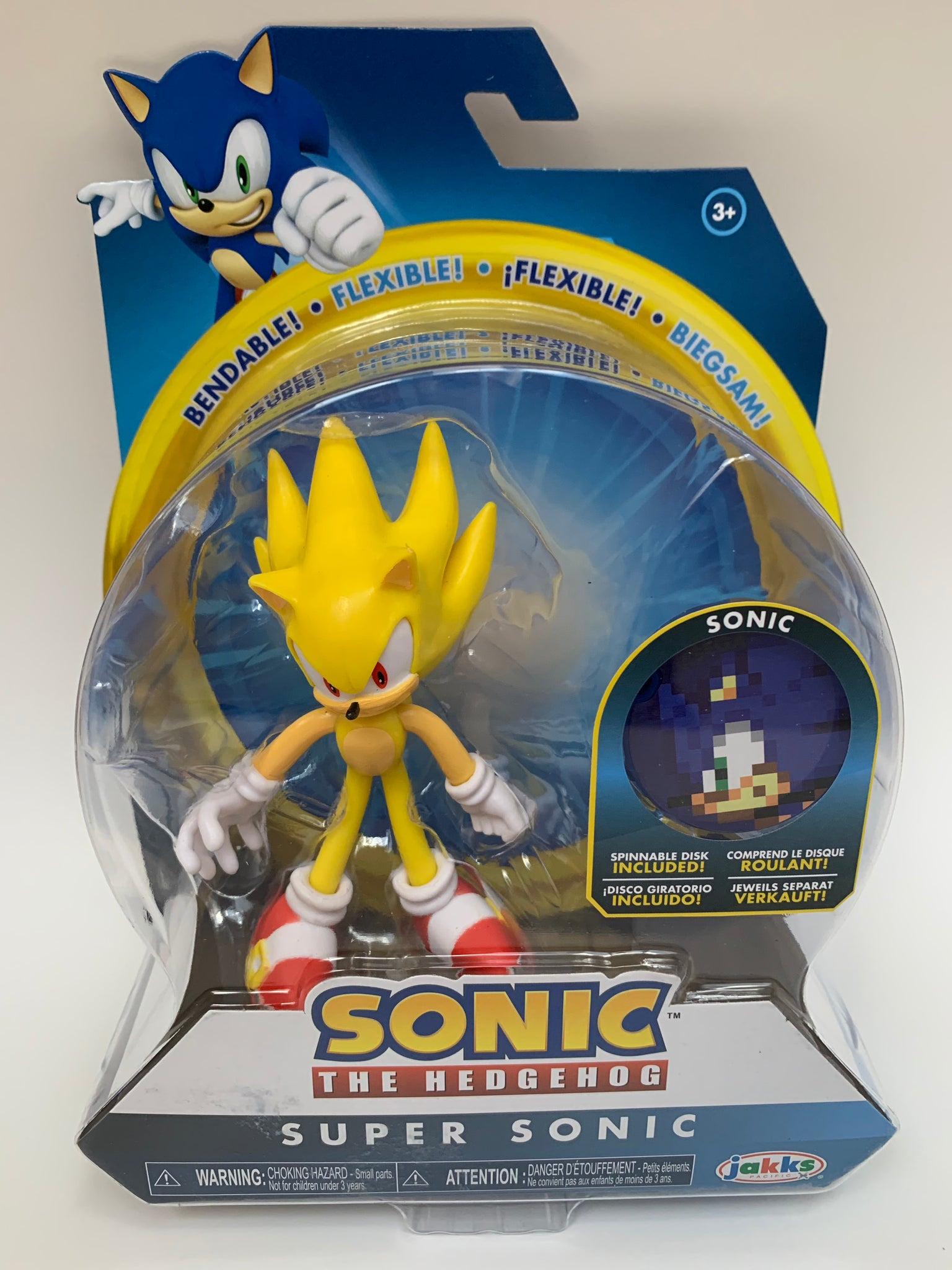 New Super Sonic From Sonic The Hedgehog Kerbobble Toys