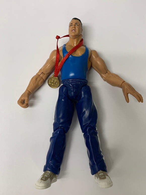 WWE Jakks Pacific 'Kurt Angle' with Gold Medal