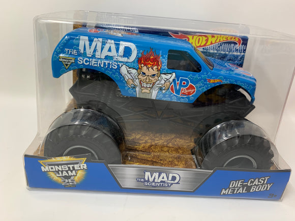 Hot Wheels Monster Jam: The Mad Scientist 1:24 Scale