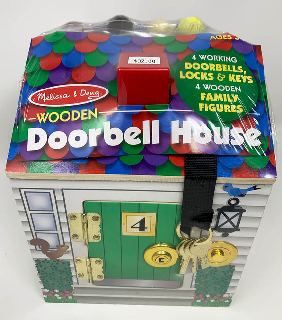 Melissa & Doug Doorbell House