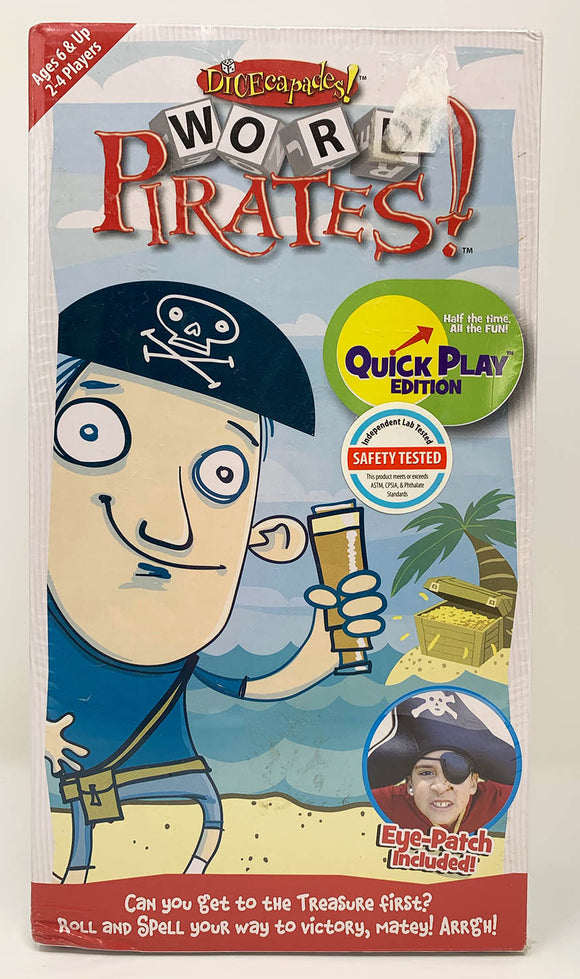 Word Pirates QuickPlay Game by Dicecapades