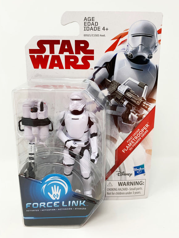 Star Wars Force Link First Order Flametrooper