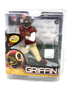 "McFarlane ""Robert Griffin III"" Washington Redskins ALT JERSEY 2012"