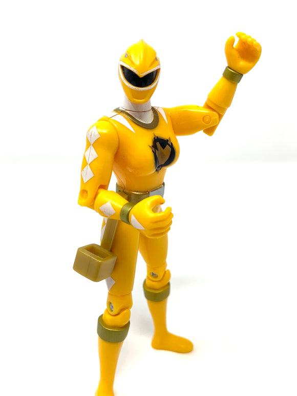 2003 Power Ranger Dino Thunder: Yellow Ranger 5.5""