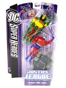 "DC Super Heroes Justice League ""Mr.Miracle, Orion, Darkseid"""
