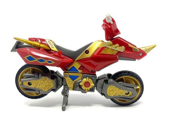 Mighty Morphin Power Rangers Dino Thunder Red Cycle Hovercraft