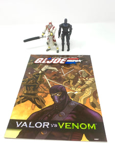 G.I. Joe Comic Book Set Valor vs Venom 'Snake Eyes vs Storm Shadow'