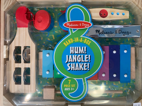 Melissa & Doug Band in a Box Hum! Jangle! Shake!