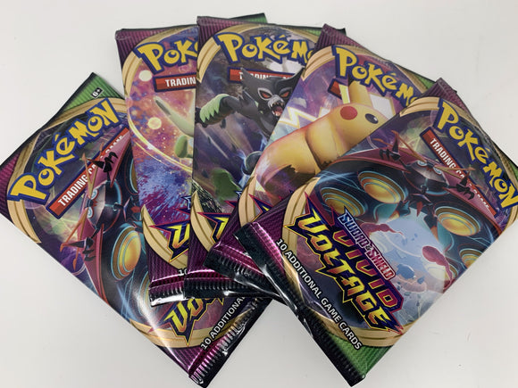 Pokemon Booster Pack Sword & Shield Vivid Voltage