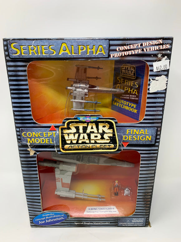 Star Wars Micro Machines Concept Model Vehicles