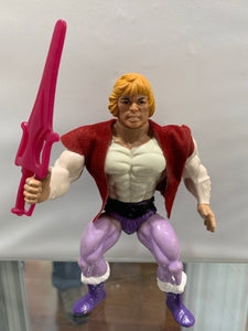 Masters of the Universe Prince Adam with Sword and Vest