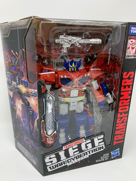 "Transformers Generations Siege Leader Wave 2 ""Optimus Prime"""
