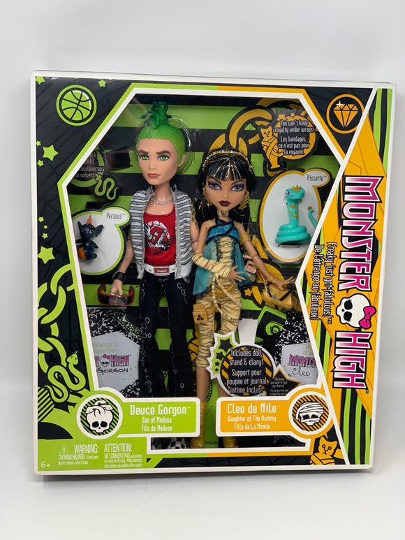 "Monster High ""Deuce Gorgon & Cleo de Nile"" First Wave"