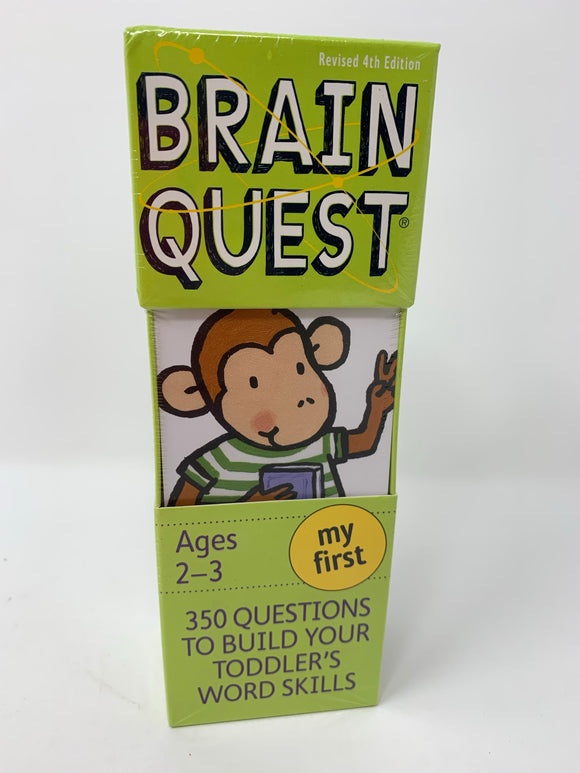 Brain Quest Deck: Ages 2-3, My First
