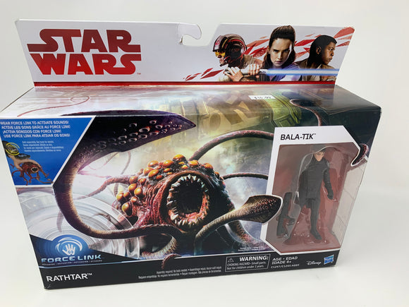 Star Wars Rathtar with Bala-tik Figure