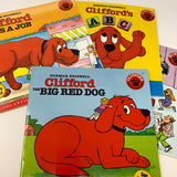 Clifford the Big Red Dog - 4 books