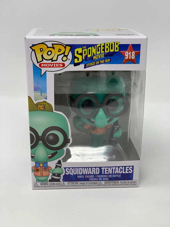 Funko Pop! Squidward Tentacles #918