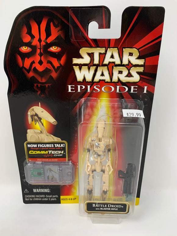 Star Wars Episode 1 Battle Droid with Battle Damage