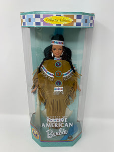 "Barbie Collector Edition Dolls of the World ""Native American"" Fourth Edition"