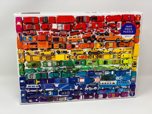 Toy Cars 1,000 Piece Puzzle