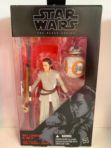 "Star Wars The Black Series ""Rey (Jakku) and BB-8"""