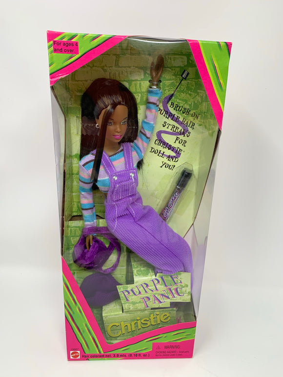 """Purple Panic Christie"" Collector's Edition Barbie"